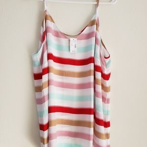 NWT - Maurice's - Size 2 - Striped Summer Tank